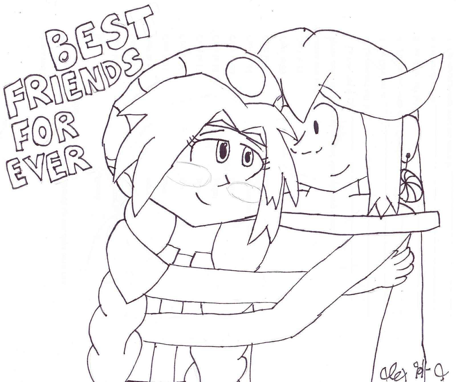Best Friends Forever by RosalinasSoulmate