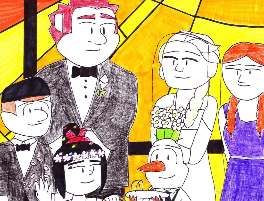 Icebreaker Wedding by RosalinasSoulmate