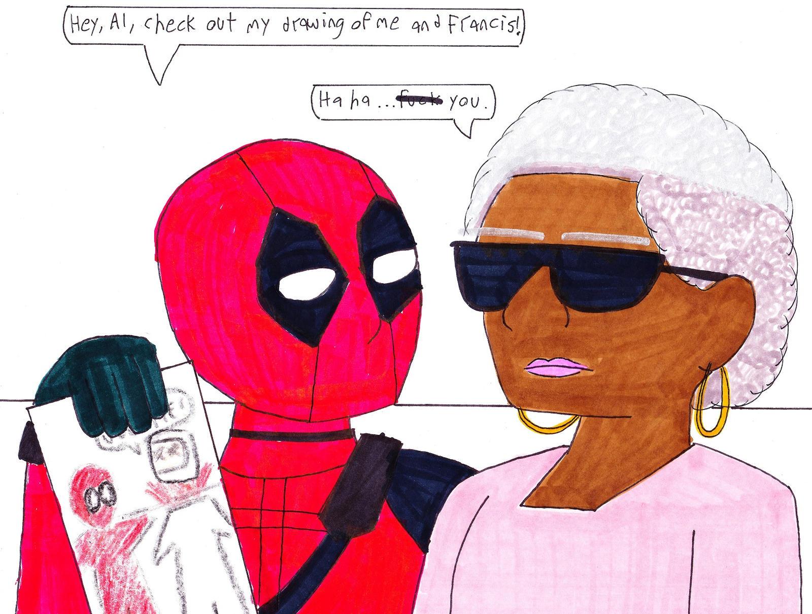 Dibujos De Deadpool: Deadpool's Drawing By RosalinasSoulmate On DeviantArt