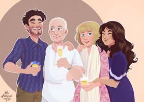Commande - Portrait de famille