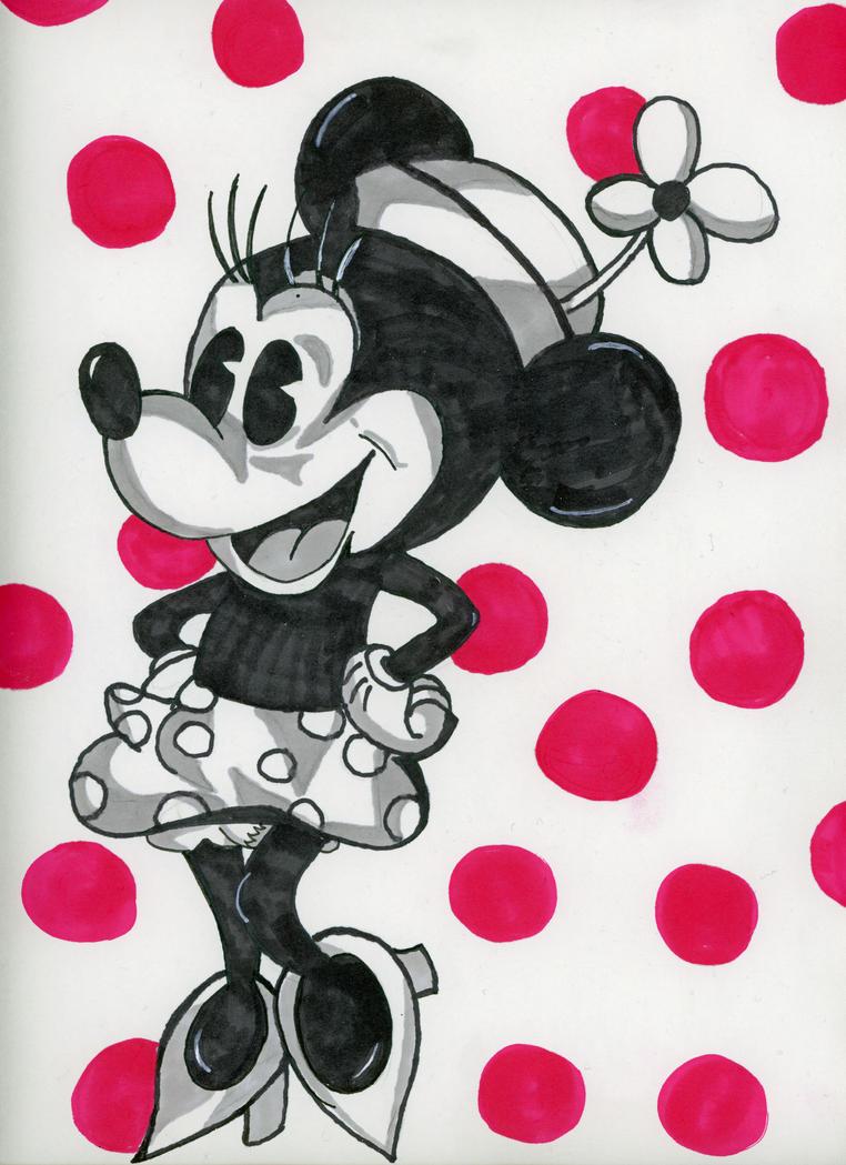 Retro Minnie by CoffeeToffeeSquirrel on DeviantArt