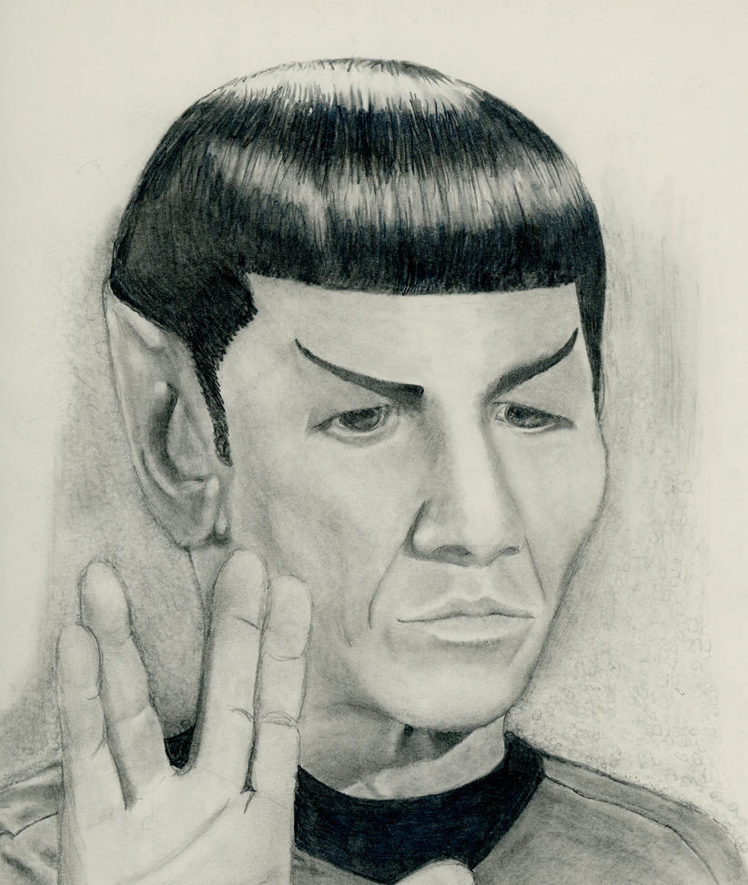 Live long and prosper by CoffeeToffeeSquirrel