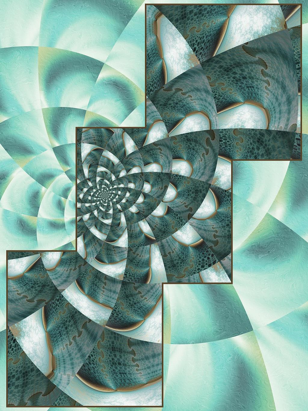 Escher goes Logarithmic