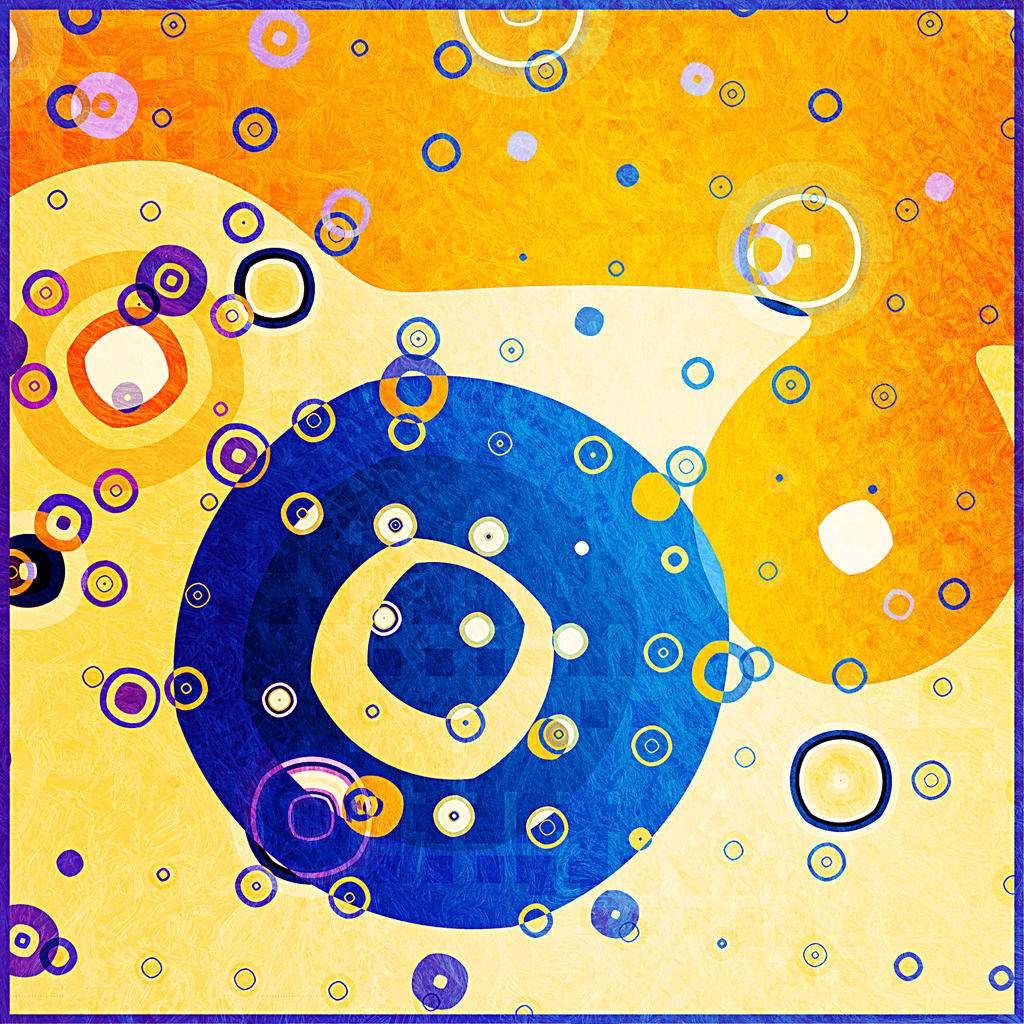 Orange, then Blue by CoffeeToffeeSquirrel
