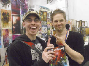 Jon meets Stuart Sayger
