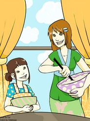 Kumiko and Alice