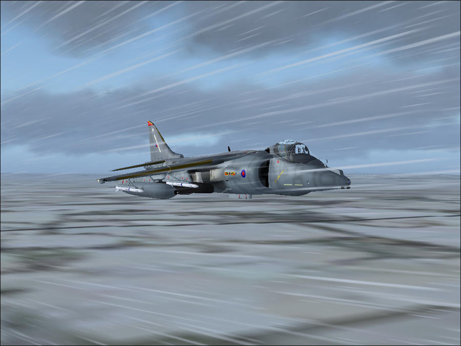 Harrier in the Christmas snow :gift: by Jamie-the-Luxray-95
