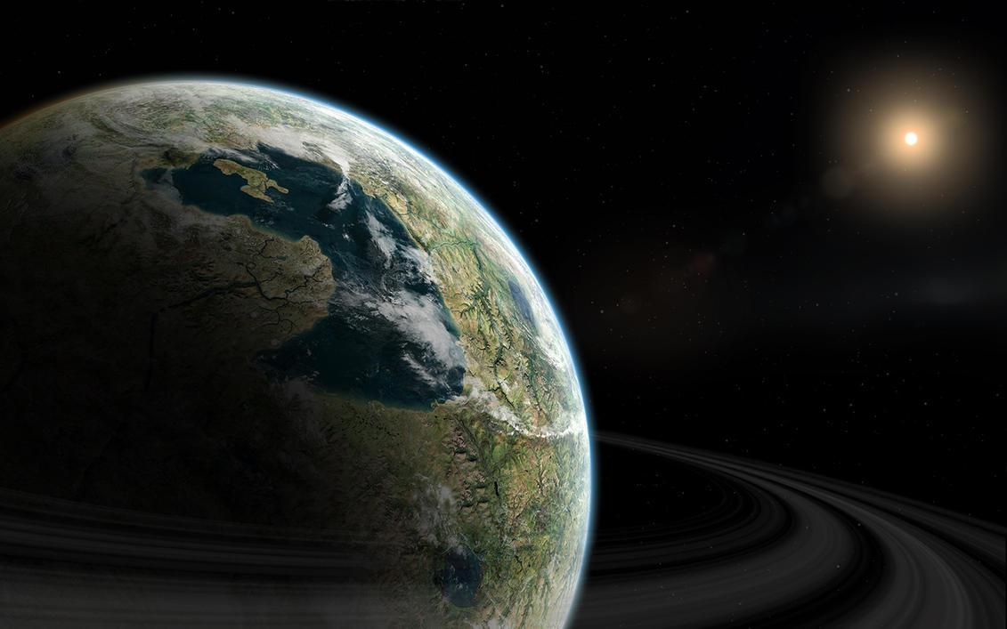 Temperate Planet by kvikki