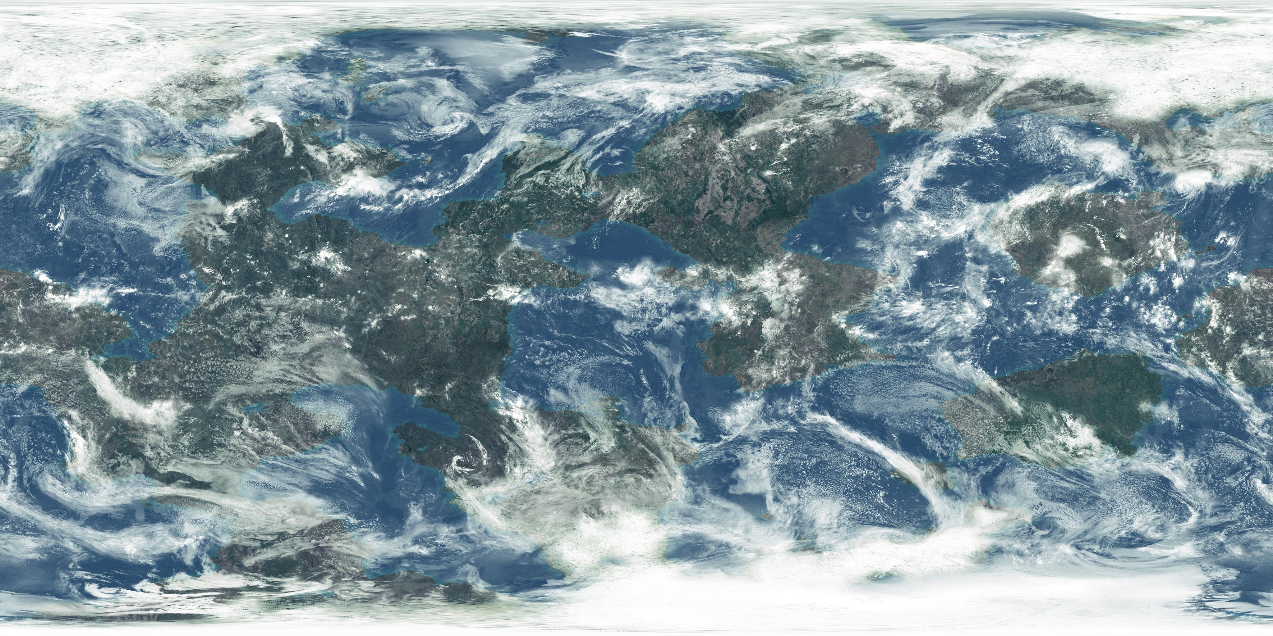 earths surface alb seasonal - 1264×632