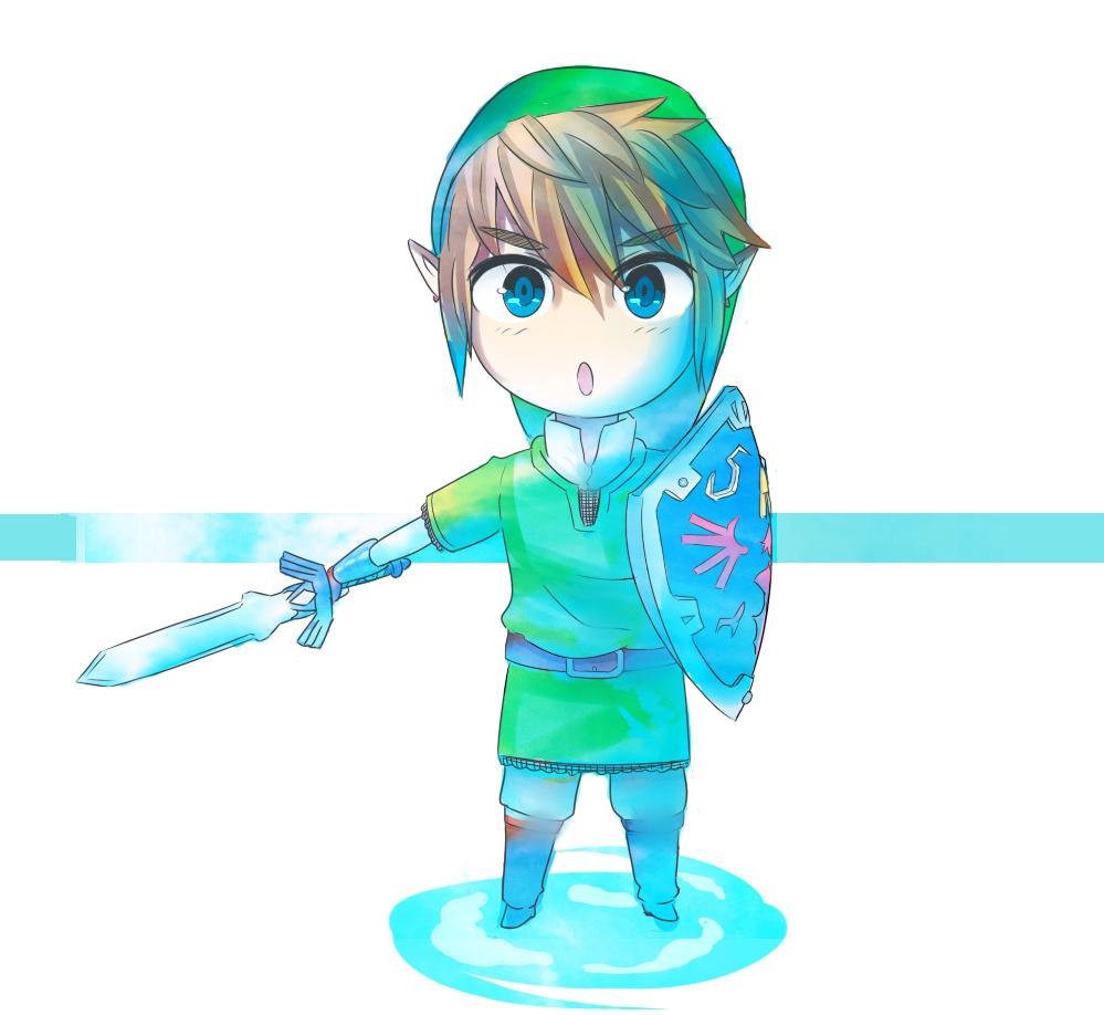 Skyward Sword Link //Birthday Gift// By CronoHero On