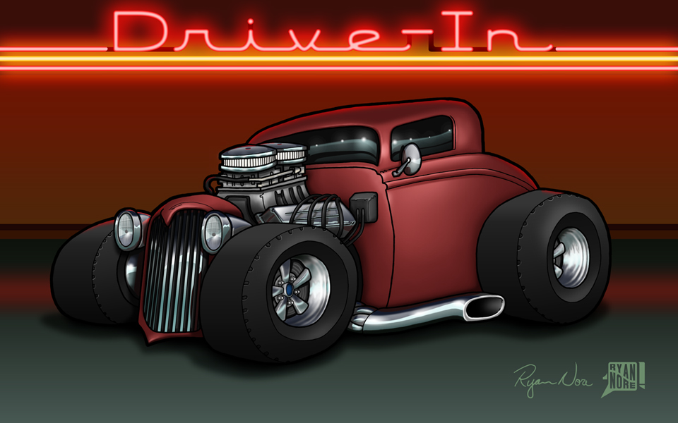 34 Ford Coupe by RyanNore