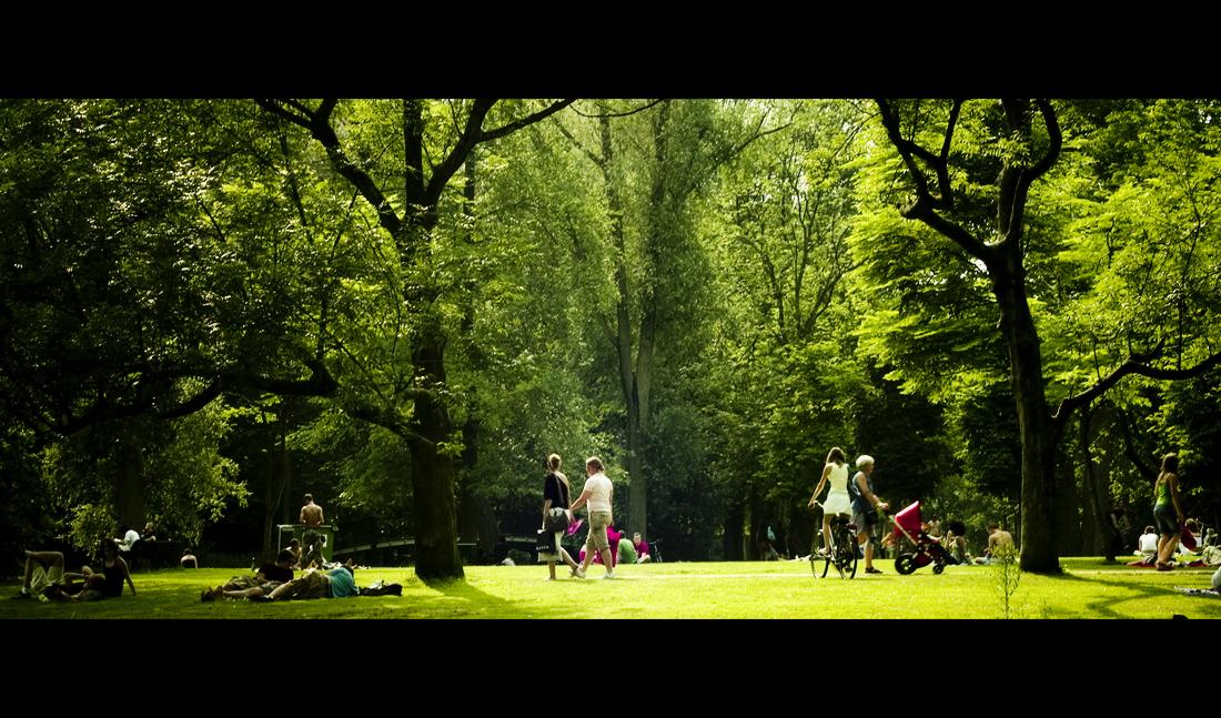 Vondelpark 2 by Mhir