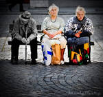Sunday bench
