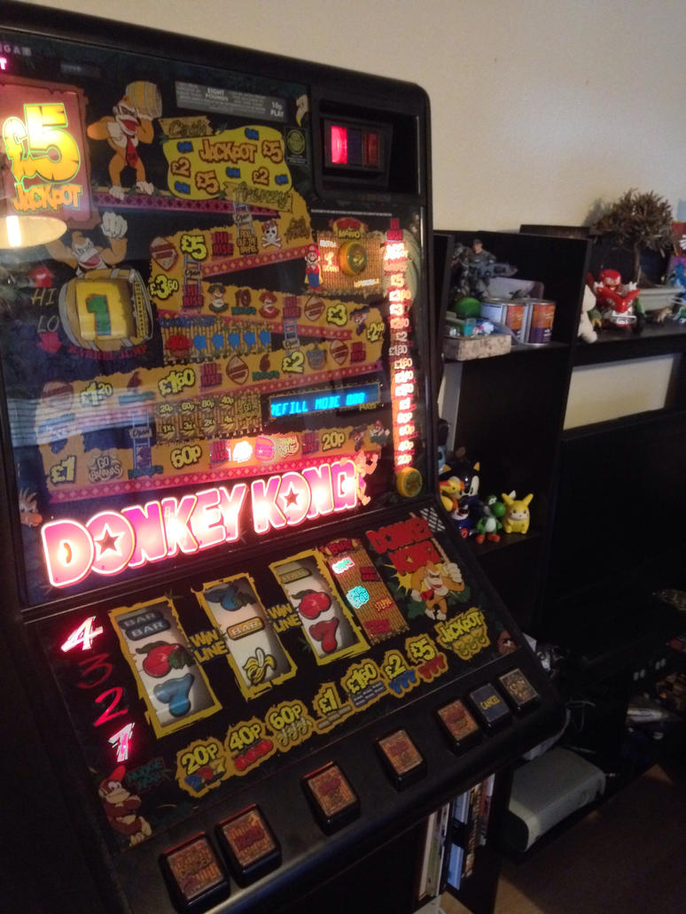 Donkey kong fruit machine by foxy-design1
