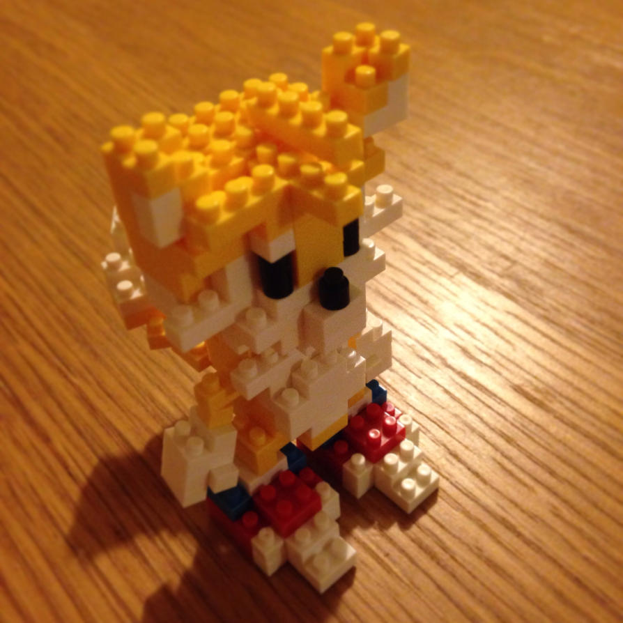 Tails Lego by foxy-design1