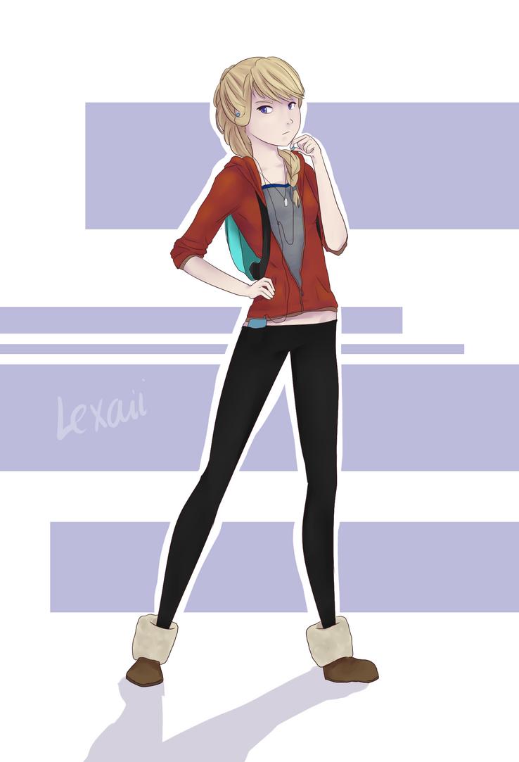 Modern Astrid by Lexaii