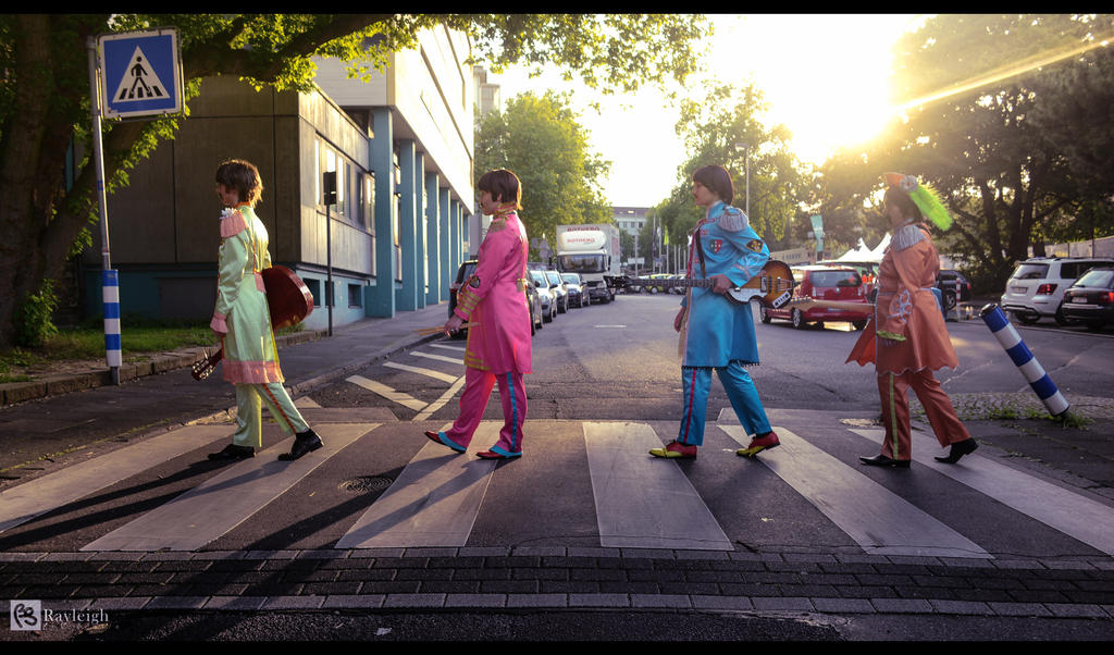 Abbey Road/Sgt. Pepper [The Beatles Cosplay] by EmperorSteele92