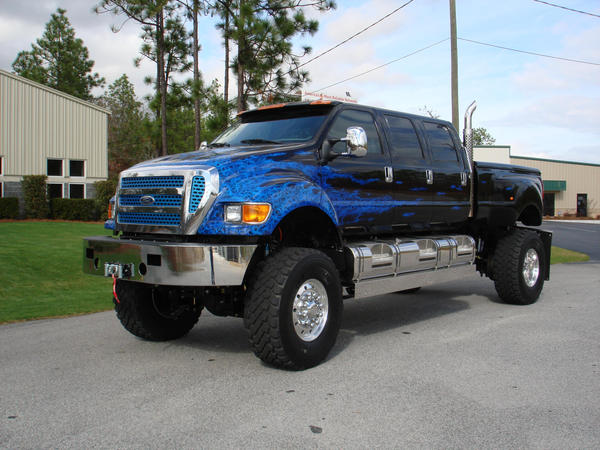 Ford F350 6 Door >> Lifted F750 Super Truck | www.pixshark.com - Images Galleries With A Bite!