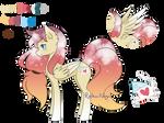 Sunset Pegasus Adoptable [OPEN] Auction