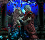 Dante x Lightning  2 Valentine Day by Lady-Ariana-Croft