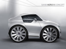 Mini Saab Aero by vincemuss