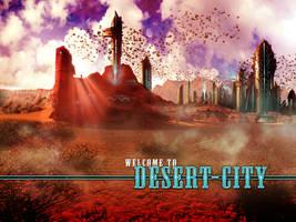 Desert City by vincemuss