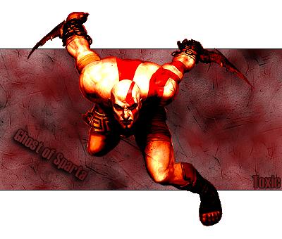 God of War Kratos by ToxicLimit90