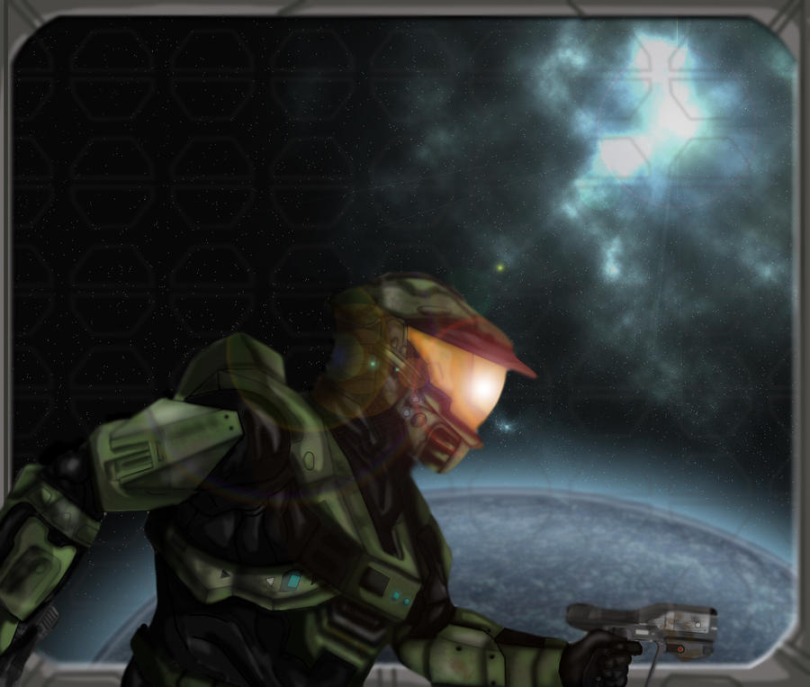 Master Chief by JackSkelling10