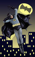 Adam West Batman! by JackSkelling10