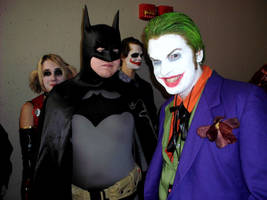 Ohayocon 2012 Joker and Bats by JackSkelling10