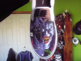 Killing Joke Shoes WIP by JackSkelling10