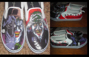 The Killing Joke Joker Shoes by JackSkelling10