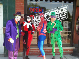 Free Comic Book Day 2012 at Kidforce Collectibles by JackSkelling10