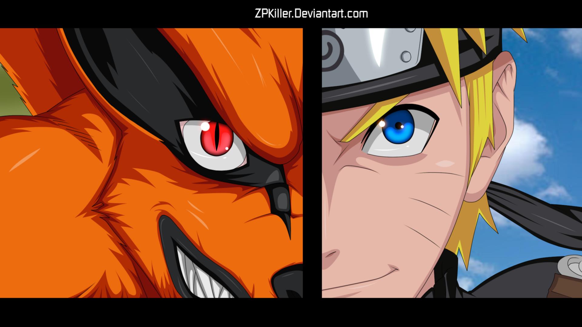 Fantastic Wallpaper Naruto Face - kurama_and_naruto_wallpapper_by_zpkiller-d6h4ro1  Pic_483479.jpg