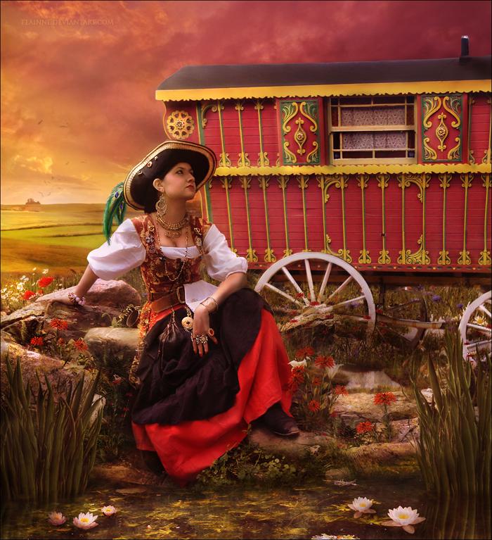 Gypsy Girl by FenneArts