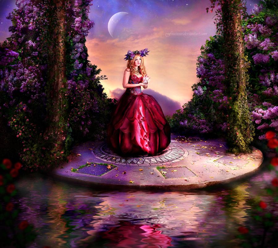 The Lilac Dawn by feainne