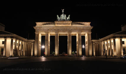 Berlin at Night by PassionAndTheCamera