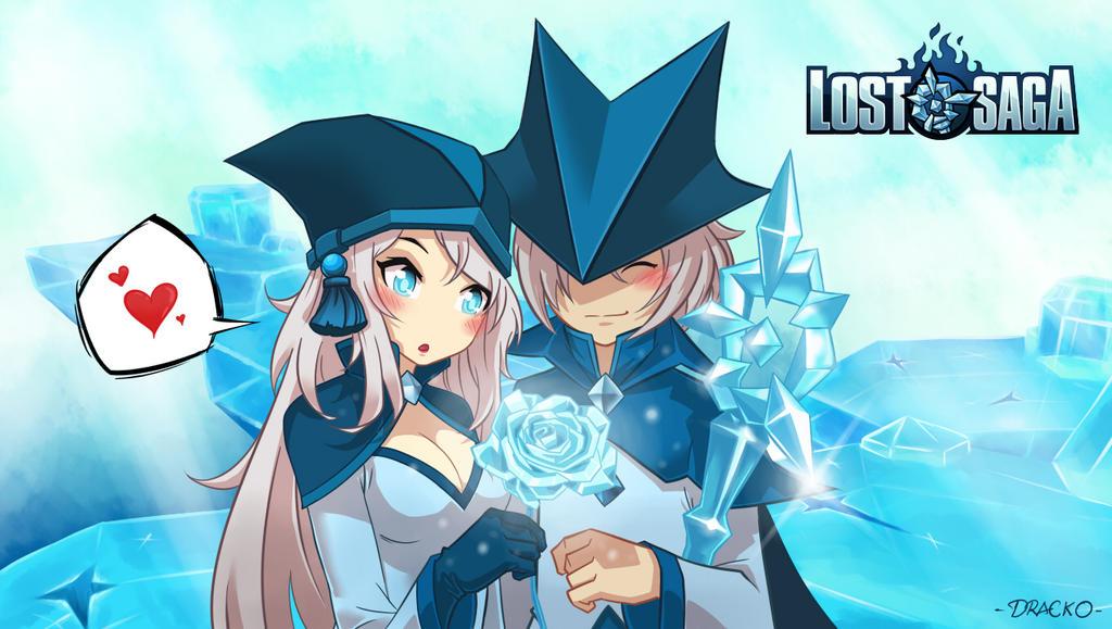 Ice Mage Valentine Art Lost Saga