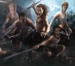 Thunder Berserkers by angelmarthy