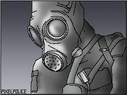 Pixel Police by draxgoroth
