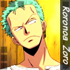 Icon Roronoa Zoro 01 by francielenfortes