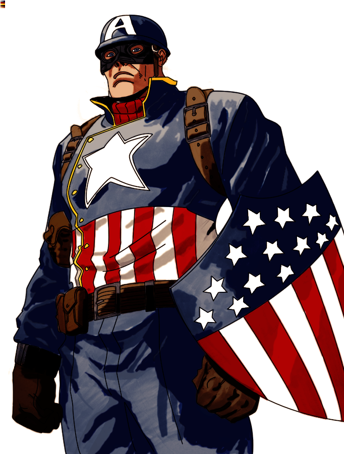Ultimate Captain America by Crumblier