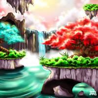 Alien Paradise by takytoh