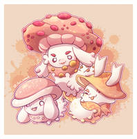 .:The Fungus Amung-Us!:. by ToriStarfire