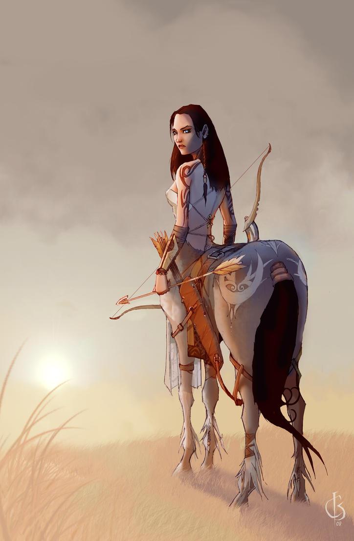 Centauress by xiwik on DeviantArt