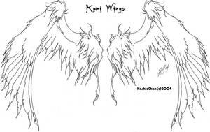 Tat - Kami Wings by KashieChan