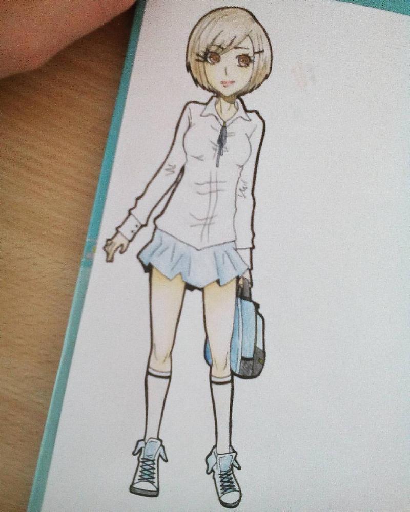 School girl by Lashu16