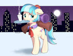Coco pommel: working all night
