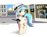 the walk of miss Coco pommel