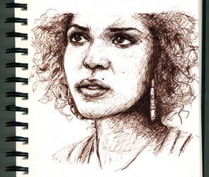 Sketch: Alisha by Isabienne
